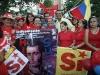 Alcalde Richard Coroba, de frente con las mujeres socialistas en apoyo del SI